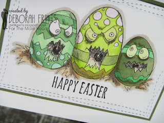 Happy Easter detail - photo by Deborah Frings - Deborah's Gems