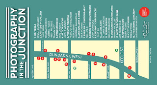 Photography in the Junction venues and map, May 1-31, 2015 by thejunctionbia.ca