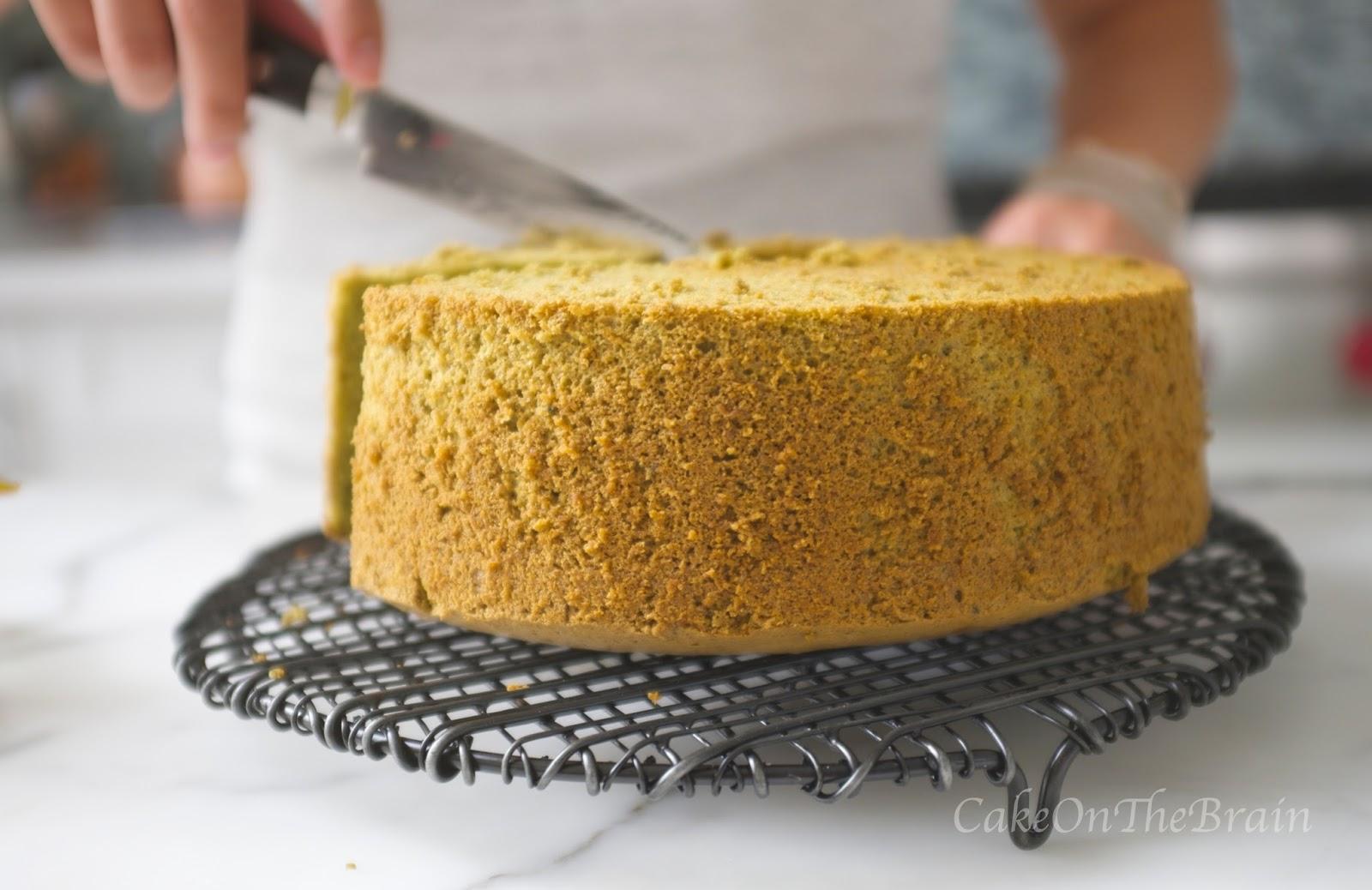 Chiffon Cake Without Tube Pan