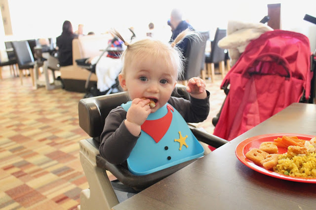 review of make my day bib by cheeky rascal sherif design cute plastic fold up reusable baby bib