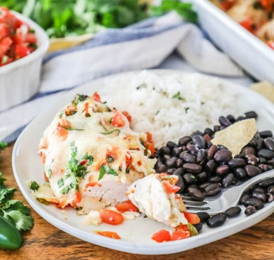 Salsa Fresca Chicken #mexicanfood #dinner