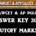 AP LAWCET/PGLCET 2016 Answer Key Cutoff Marks