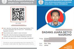 Panduan Cara Cetak Kartu Anggota POKJA SIM PKB 2017/2018 Resmi Diterbitkan Oleh Ditjen GTK – Kemdikbud RI