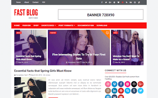 Fast Blog Blogger Template