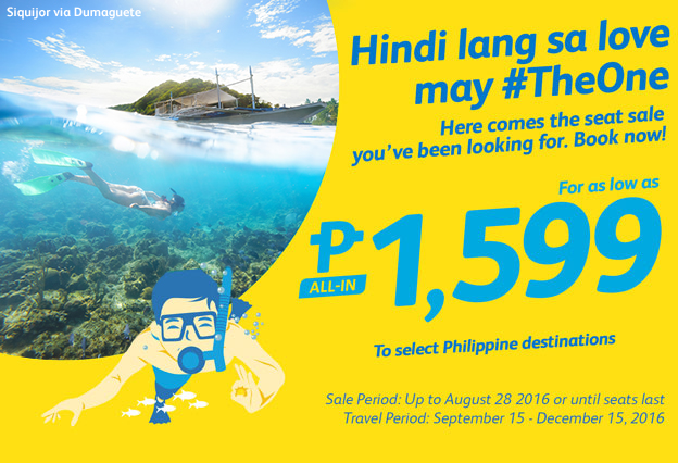 Cebu Pacific Manila to Boracay Promo Fare
