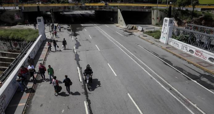 Pocos venezolanos en la calle tras el veto a las protestas contra la Constituyente