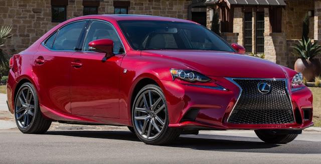 2018 Lexus IS Redesign