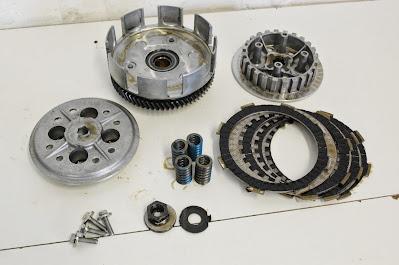 Yamaha XT125 clutch rebuild XT 125