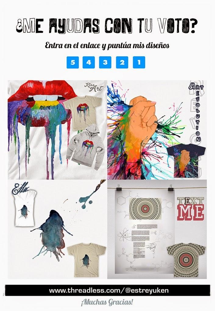 Diseños para Camisetas | Concurso ¡Votaciones abiertas!
