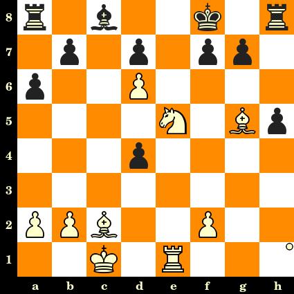 Les Blancs jouent et matent en 3 coups - Elekes vs Zitzen, corr., 1917