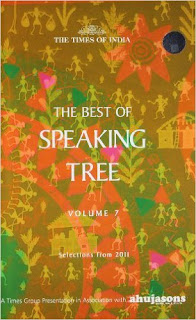 Book Review, The Speaking Tree, Time of India