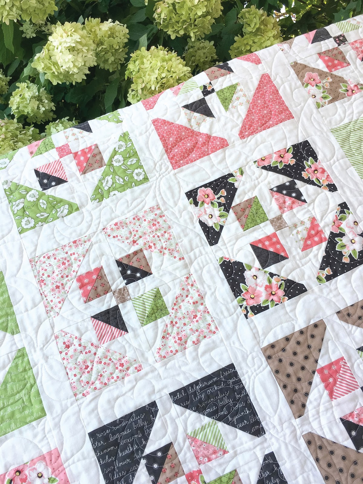 Layer Cake Quilt Top : Carried Away Quilting: New Pattern: Window Garden
