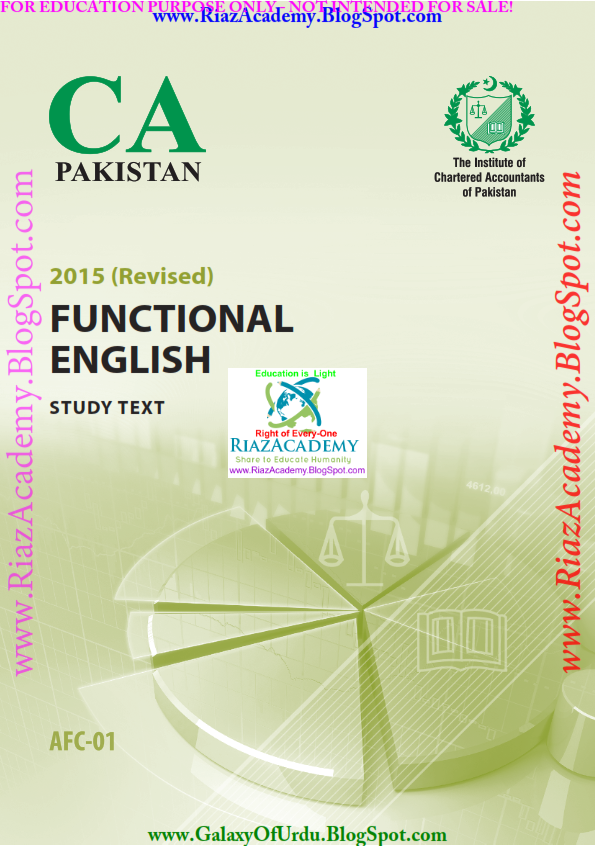 FUNCTIONAL ENGLISH - Study Text (Revised 2015) by ICAP