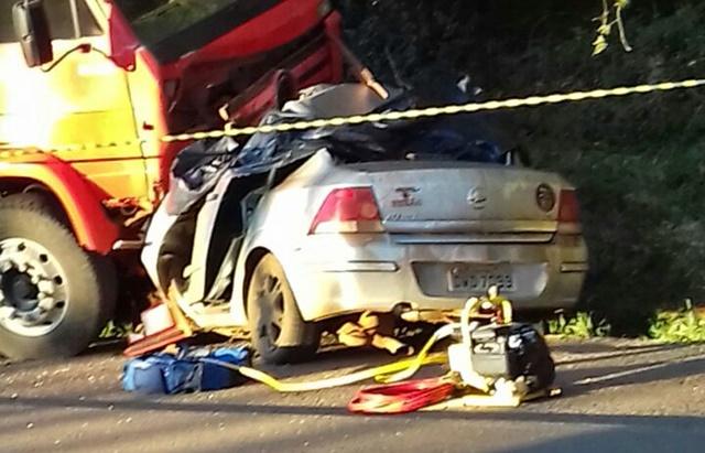 Pitanga: Quatro pessoas morrem em trágico acidente na PR-460