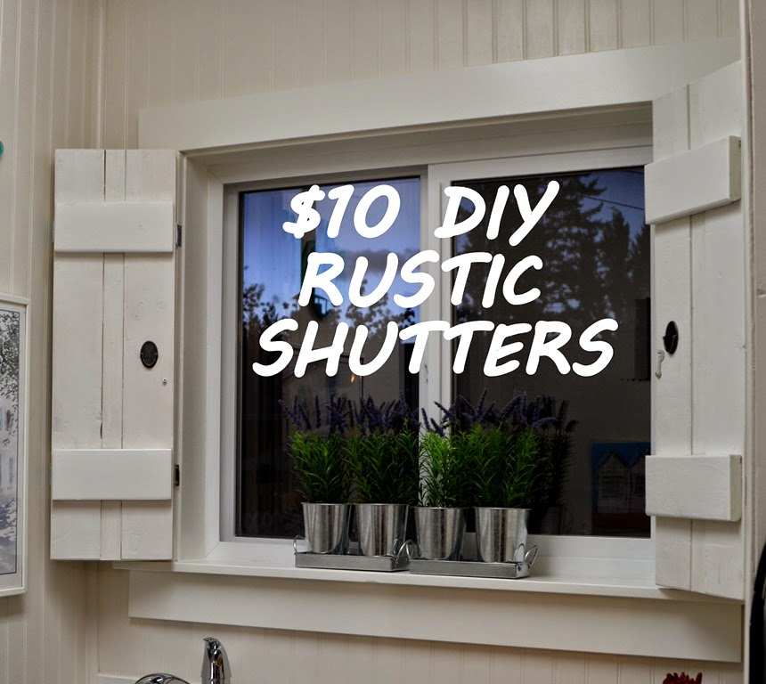 Designdreams by anne rustic diy shutters for 10 with solutioingenieria Images