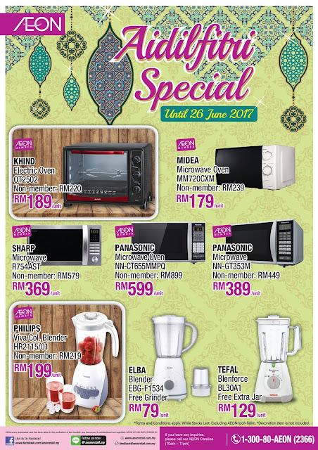 AEON Aidilfitri Special Discount Offer Promo