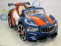 Mobil Mainan Aki Pliko PK9800N Mag Wheel Blue