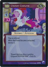 My Little Pony Chicken Costume Canterlot Nights CCG Card
