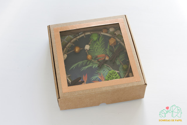 atrapasueños tropical packaging