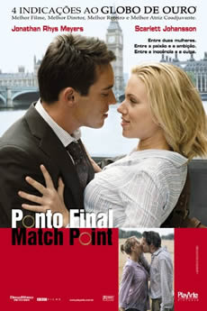 Capa Ponto Final: Match Point Torrent – Bluray 720p | 1080p Dual Áudio (2005) Download