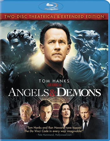 Free Download Angels And Demons 2009 Extended Dual Audio Hindi  BluRay 400mb