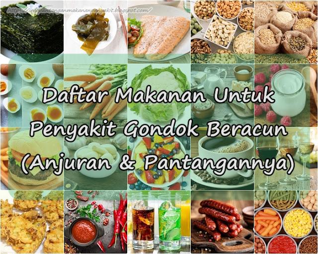 Makanan Untuk Penyakit Gondok Beracun