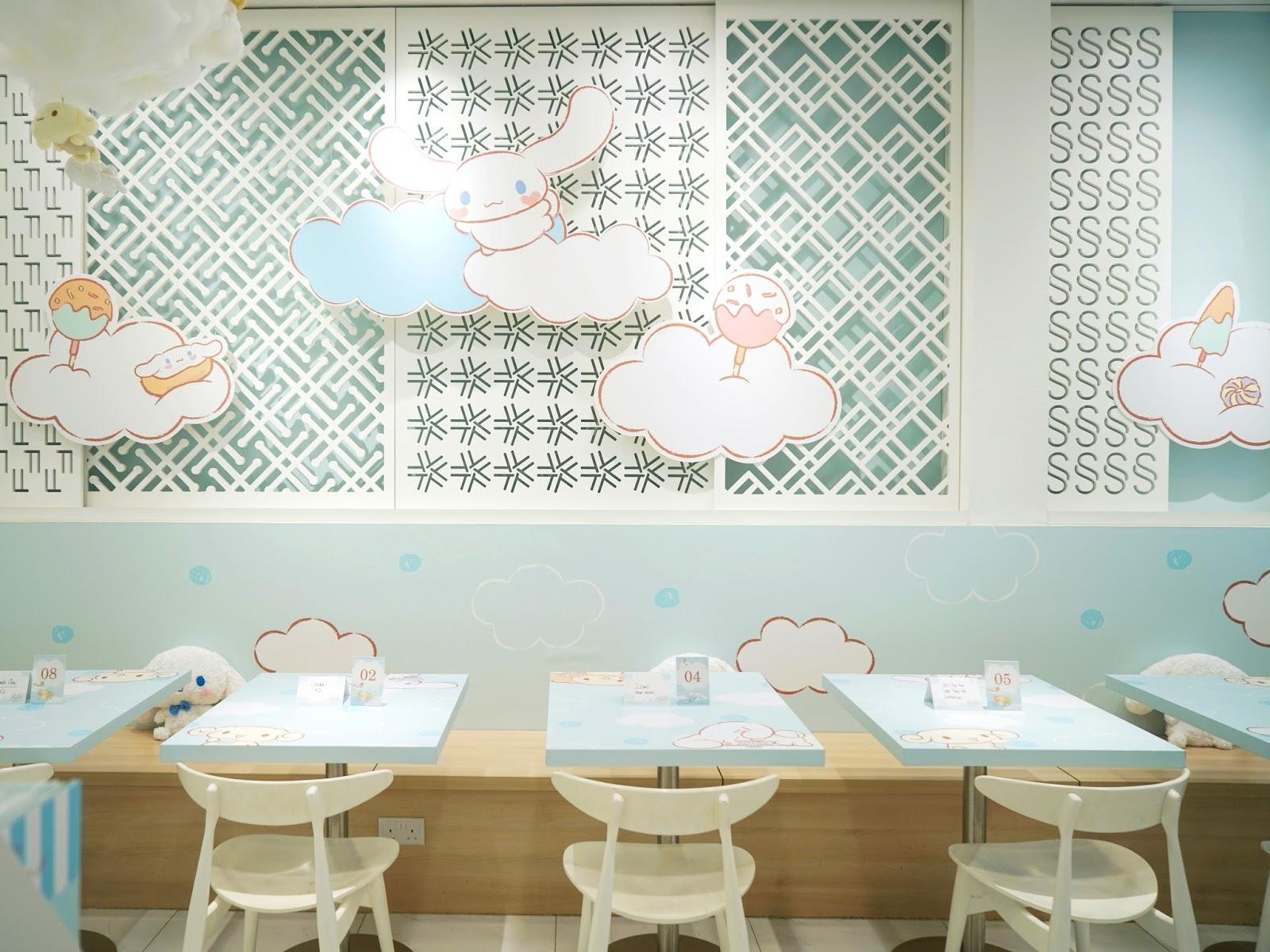PinkyPiggu Kumoya Presents Cinnamoroll Special Pop Up Cafe Super
