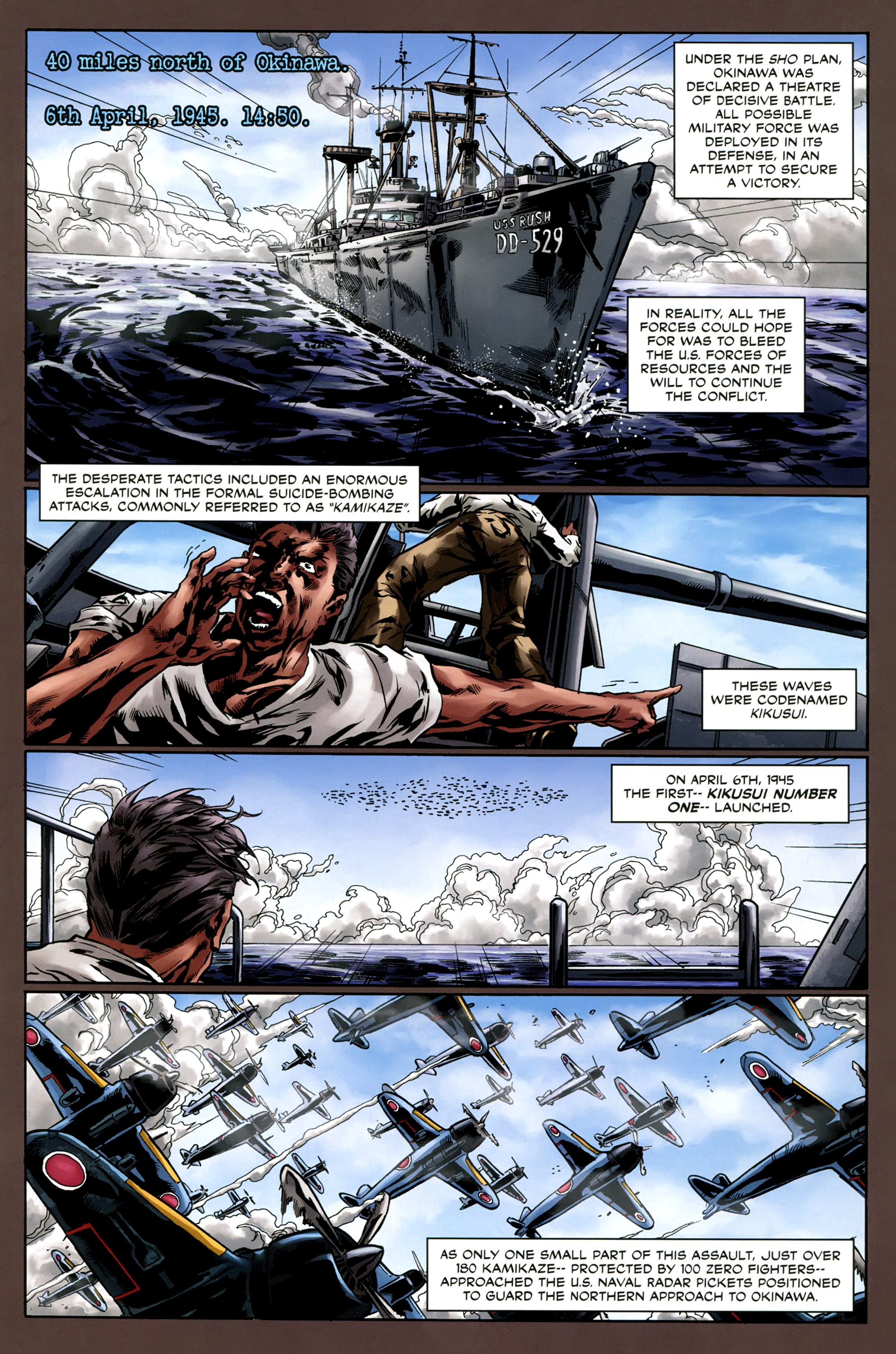 Read online Uber comic -  Issue #6 - 8
