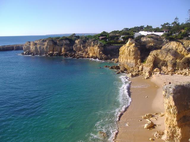 beaches of Castelo close to lisbon, portugal