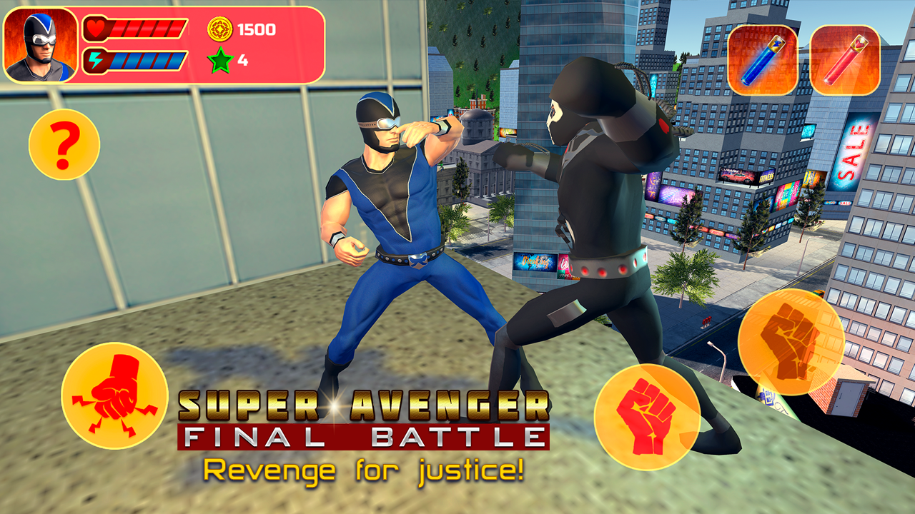 Super Avenger Final Battle MOD APK terbaru