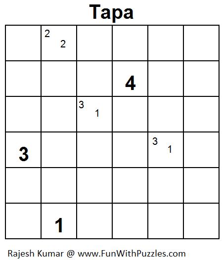 Tapa (Mini Puzzles Series #12)