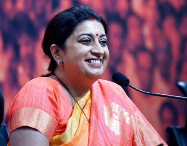 Information Commissioners Directs Releasing The 10th- 12th Exam Results Of Smriti Irani