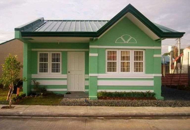 50 beautiful images of small bungalow custom home designs for Small house exterior design philippines