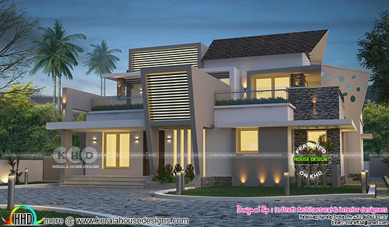 Superb contemporary 4 bedroom villa