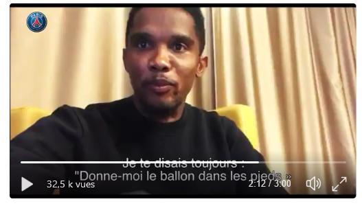 Vidéo - Samuel Eto'o et le monde du foot rendent hommage à Thiago Motta qui prend sa retraite