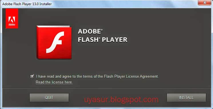 Flash Player Siap Dipasang