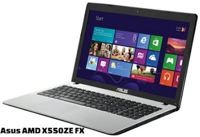 harga laptop asus amd fx x550ze