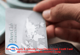 Activate Your Diners Club Credit Card