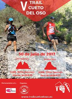 Clasificaciones Trail Cueto del Oso 2017