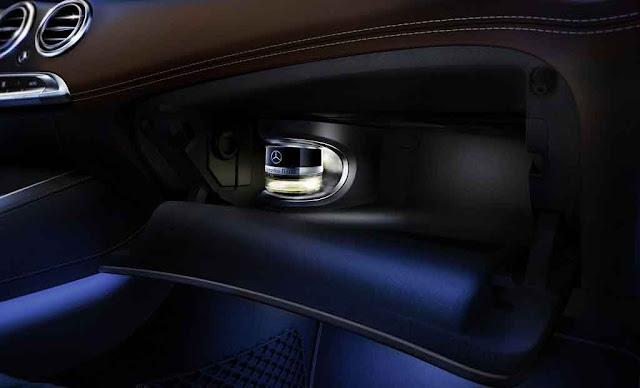 Mercedes Maybach S600 2017 trang bị Hệ thống tạo hương thơm thông minh
