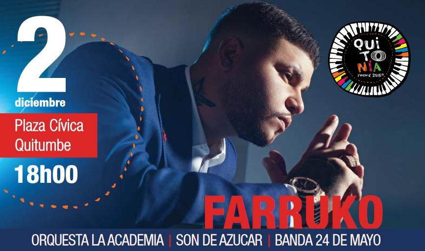 Programa completo fiestas de Quito 2016
