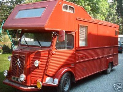 le camping car passe partout citro n type hy. Black Bedroom Furniture Sets. Home Design Ideas