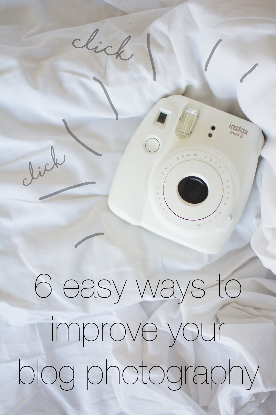 6 Easy Ways To Improve Your Blog Photography