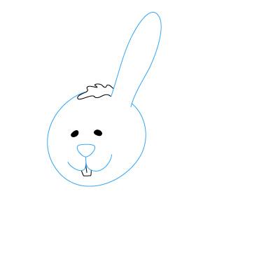 Sektsa cara menggambar kelinci untuk pemula
