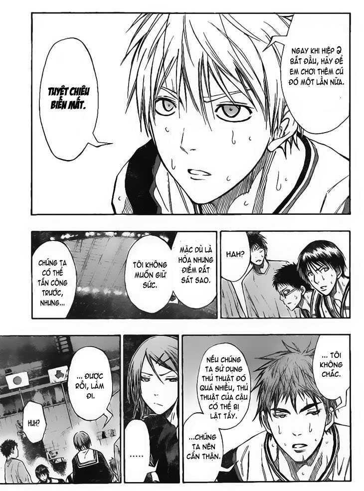 Kuroko No Basket chap 119 trang 3