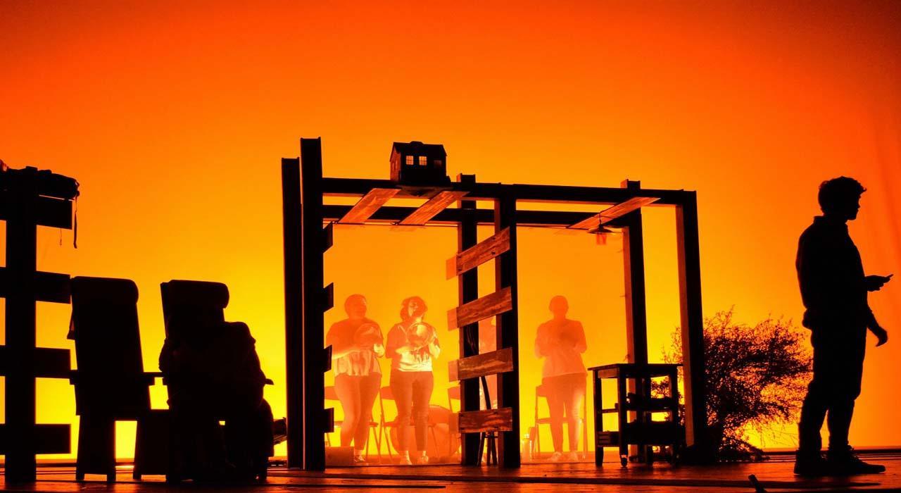 Teatro: Castrapo. Sala Cuarta Pared - Vista Teatral