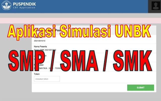 Aplikasi Simulasi Unbk Offline Smp Sma Smk Untuk Pc Dan Android Mastimon Com