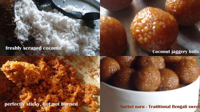 Bengali dry sweet narkel naru recipe