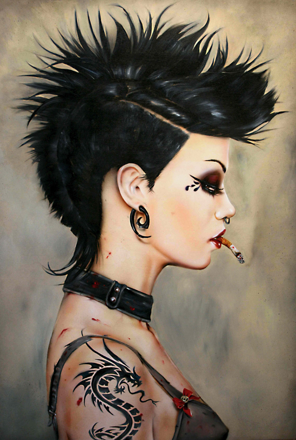 02-Vicious-Brian-M-Viveros-Paintings-of-Femininity-in-the-Eye-of-the-Artist-www-designstack-co