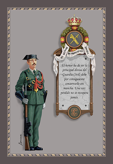 Gastador de la Guardia Civil